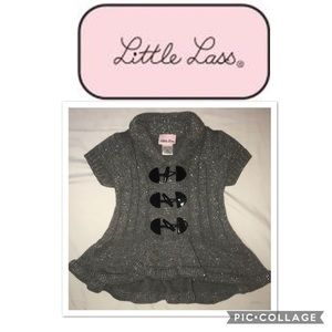 LITTLE LASS little girls Posh Sweater